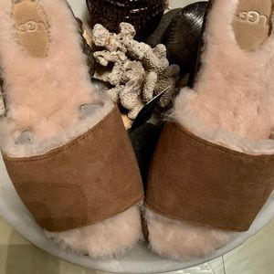 UGS Breezy  Slide Brown Slipper Size 7.5